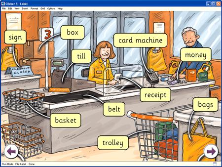 english dialogue at the supermarket essay