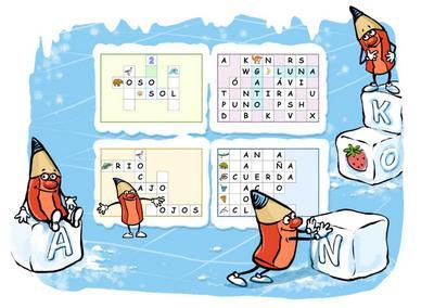 crucigramas 5 web Crucigramas y Más