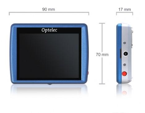 Optelec Compact Mini 468x364 Lupas electrónicas